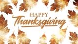 Thanksgiving Crisp Leaves Thanks Still