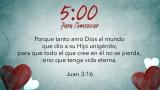Valentine's Hearts Scripture Countdown Spanish