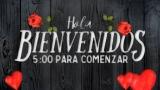 Wooden Valentine Countdown - Spanish