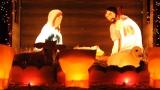 Christmas Lights Worship Background