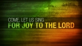 Psalm 95 Worship Intro