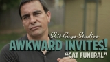 Awkward Invites: Cat Funeral