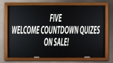 5 Welcome Countdown Quiz Package
