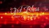 Sparkle Sunset God Bless