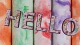 Colorful Hello