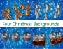 Four Backgrounds of Christmas