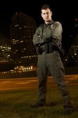 Officer at Night