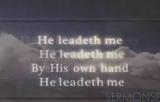 He Leadeth Me  iWORSHIP VideoTrax