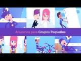 ANUNCIOS PARA GRUPOS PEQUENOS!