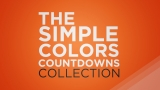 Simple Colors Countdown Collection