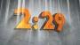 Simple 3D Orange Countdown