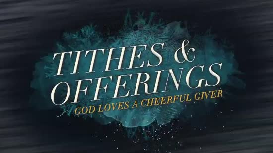 Winter Freeze Tithes And Offerings Church Motion