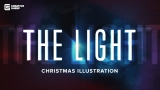 The Light - Christmas Illustration
