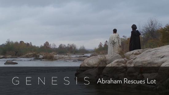 genesis  abraham rescues lot