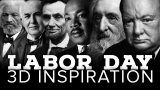 Labor Day 3D Inspiration Countdown
