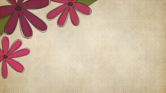 2 Bold Flower Backgrounds