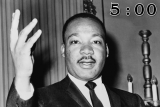MLK / MARTIN LUTHER KING JR Countdown