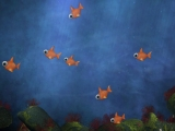 Kids Fun Fish Background - HD and SD