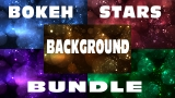Bokeh Stars Background Bundle