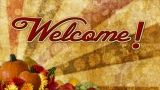 Thanksgiving Welcome Still Image 1 - HD and SD