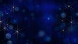 Christmas Stars Bokeh Still Image 1
