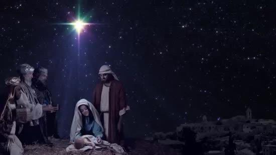Christmas Nativity Bac...