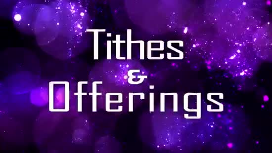 bokeh stars tithes and offerings background vertical hold media