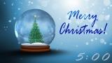 Christmas Snowglobe Countdown