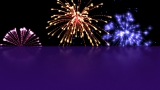 New Years Fireworks Background 1