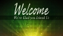 Radiant Rays Green Welcome