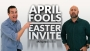 April Fools Easter Invite