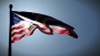 American Flag Faded Glory 4th of July Memorial Day Background Loop