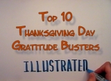 Thanksgiving Top 10 Gratitude Busters Countdown