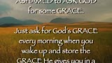 Thoughts on Grace