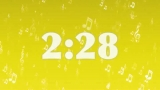 5 Minute Countdown (Yellow Music Notes)