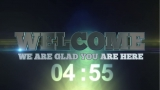 Welcome Countdown 3d Text