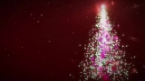 Particle Christmas Tree (Red) HD