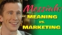 Messiah: Meaning vs. Marketing