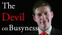 The Devil on Busyness