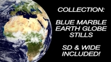 Collection: Blue Marble Earth Globes - SD & HD Stills