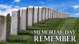 Military Gravestones - Memorial Day