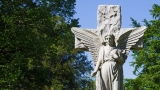 Cemetery Angel & Cross - SD & HD still