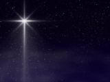 Christmas Star with Sparkling Light Loop - SD & HD included!