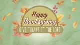 Happy Thanksgiving Still Vol 3