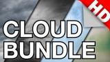 Looping Cloud Background Bundle (16:9, HD)