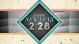 New Geometric New Year Countdown