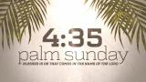 Palm Sunday Worship Countdown