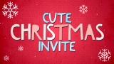 Cute Christmas Invite