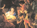 Oh Come, Oh Come Emmanuel - classic paintings