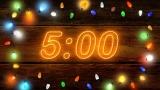 Intense Neon Carol Countdown